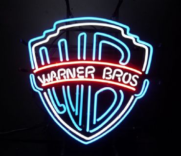 Warner Bros. Neon Sign